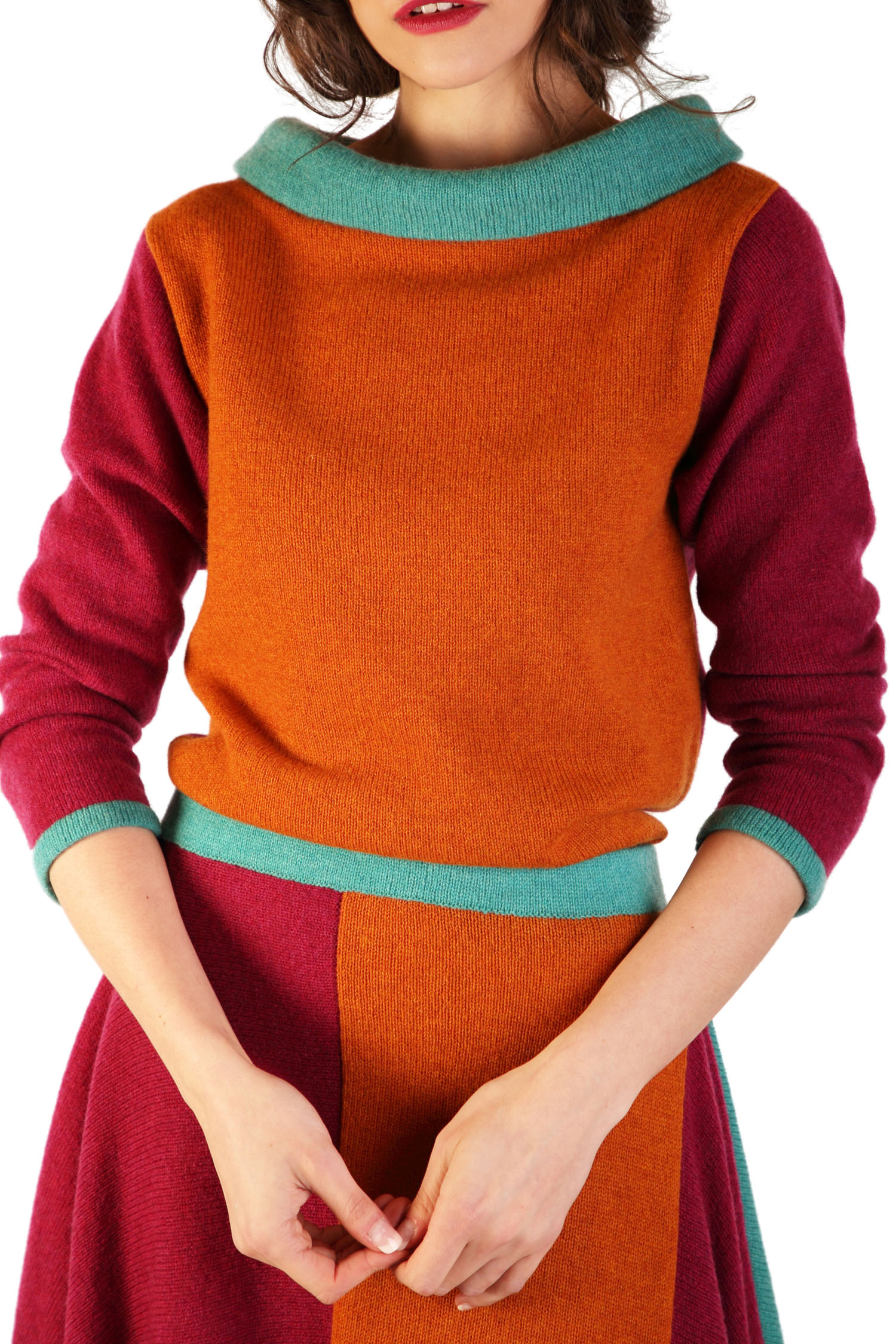 Boatneck Jumper Autumn1