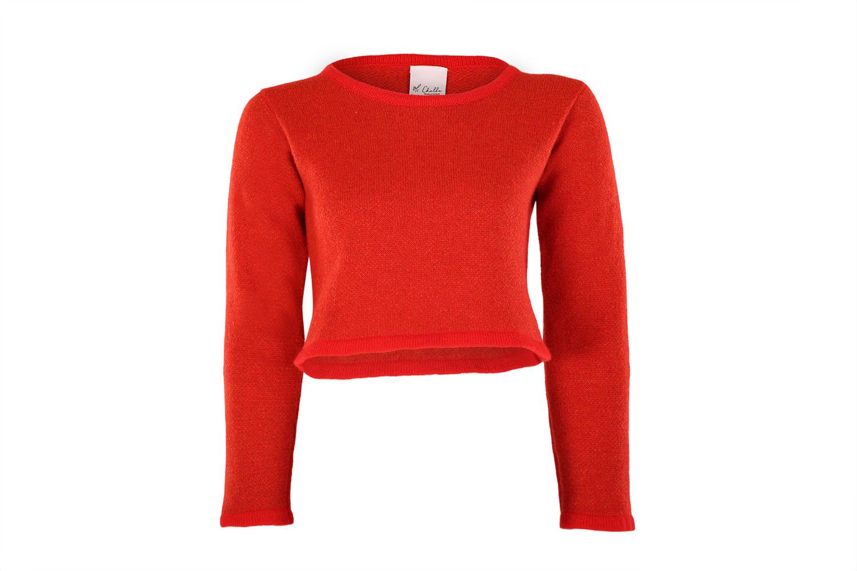 Cropped tweed jumper3