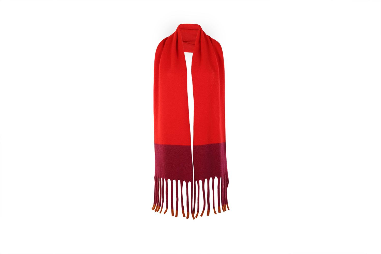 Fringed scarf Scarlet4