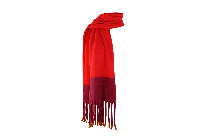 Fringed scarf Scarlet5