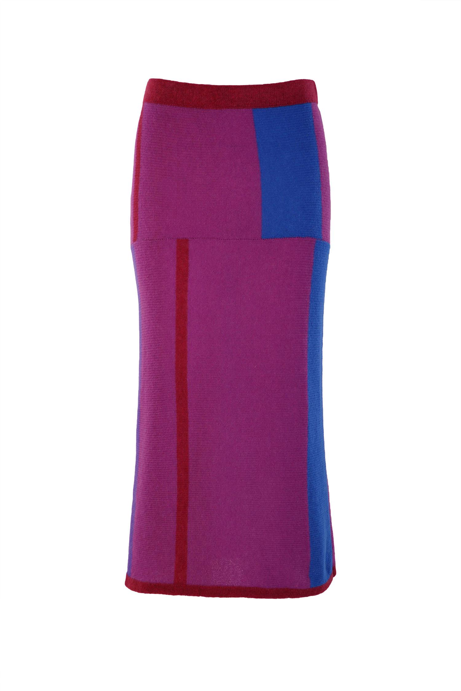 Mondrian pencil skirt2