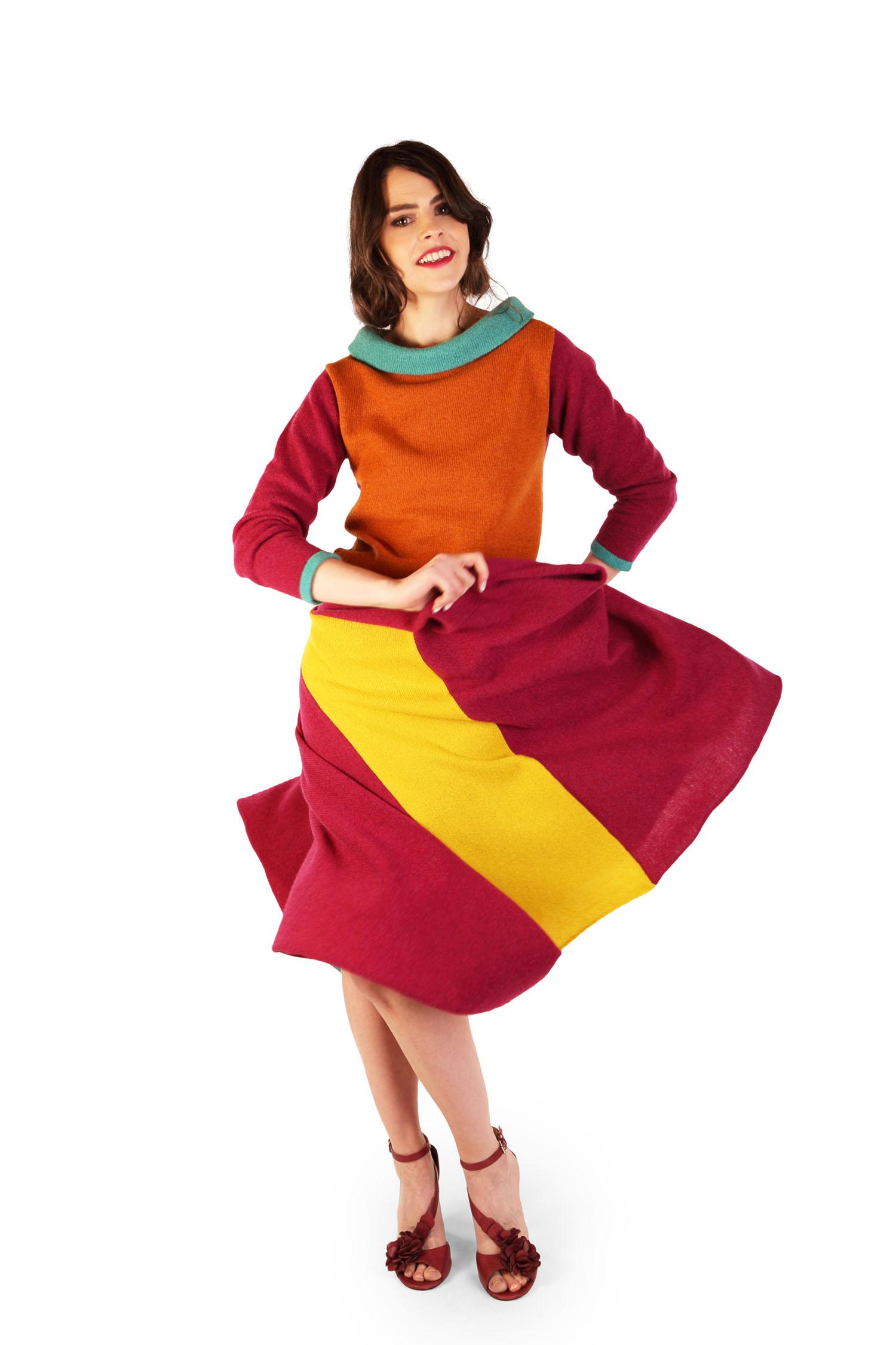 Origami skirt Autumn1