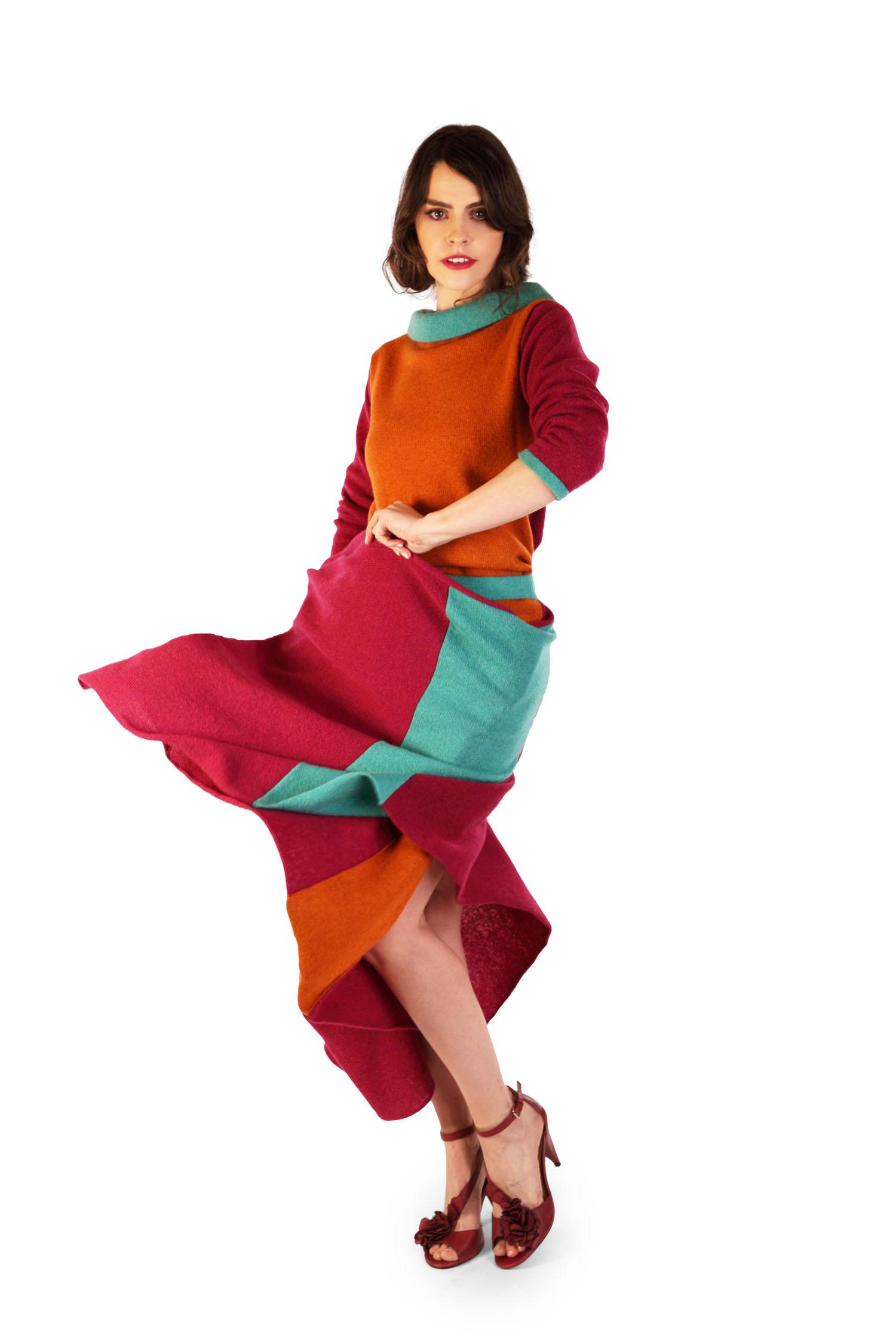 Origami skirt Autumn2 (1)