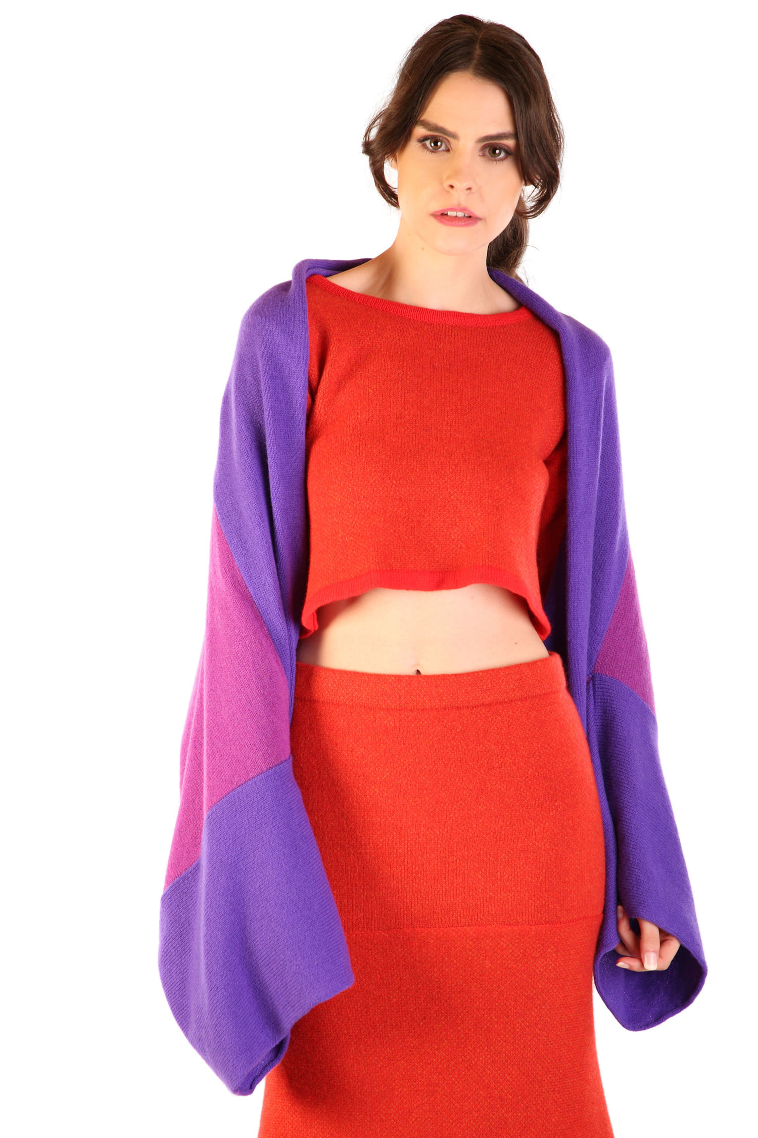 Oversized Bolero Grape1