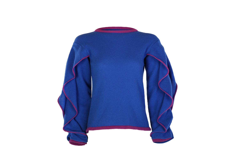 Ruffle sleeve jumper3
