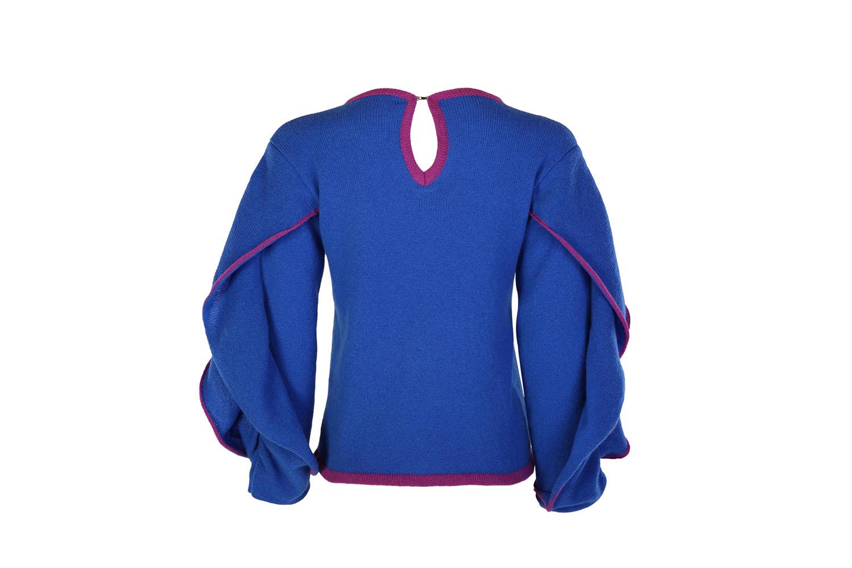 Ruffle sleeve jumper4