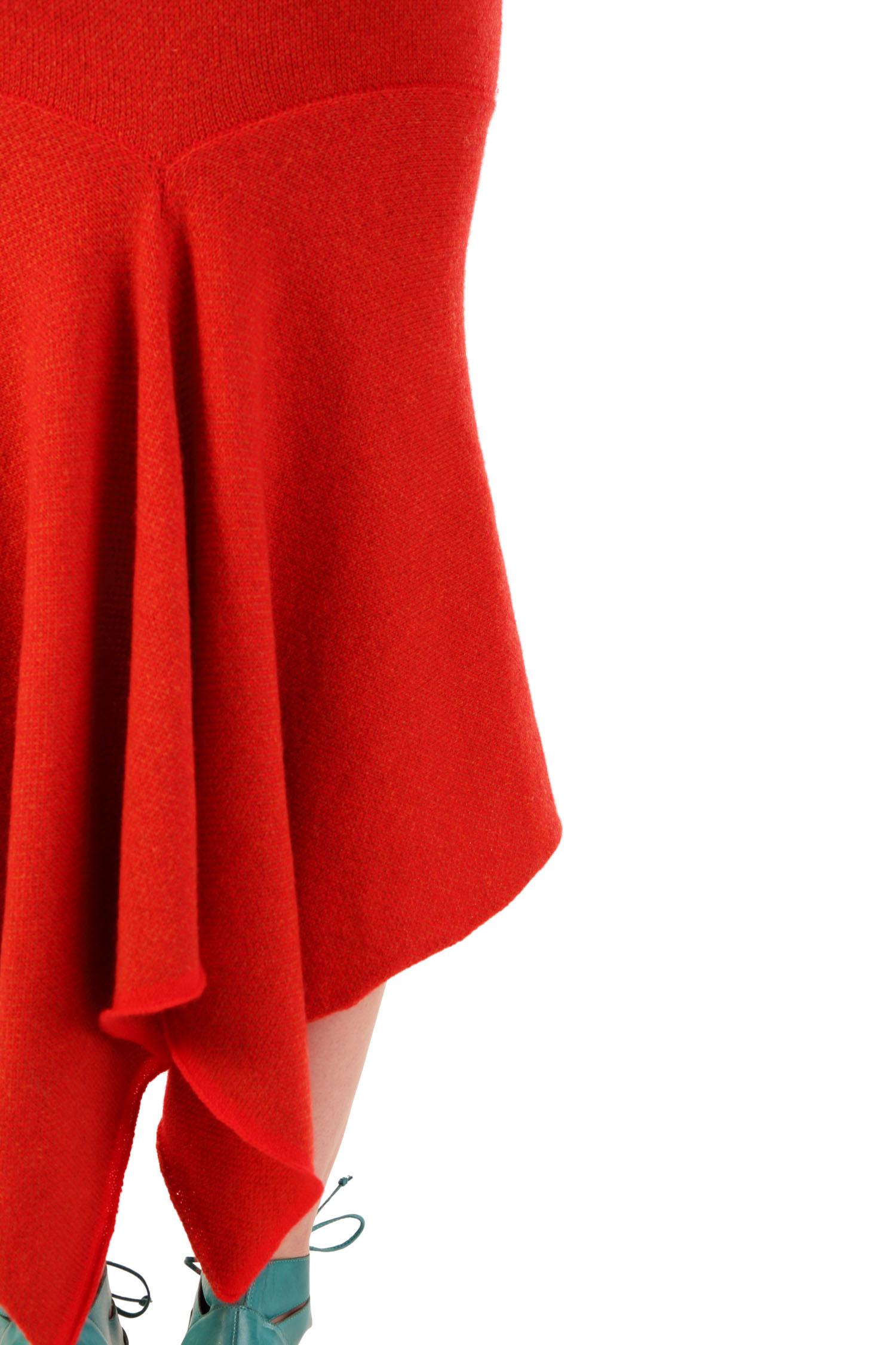 Tweed fishtail skirt1
